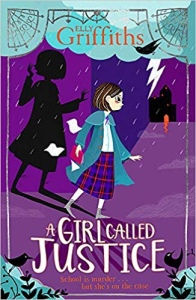 Book cover for a girl called justice