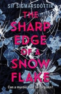Book cover for sharp edge of a snowflake