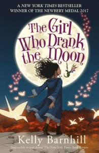 Book cover for girl who drank the moon